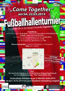 Fußballturnier für Flüchtlinge