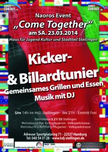 Kultur Event für Flüchtlinge